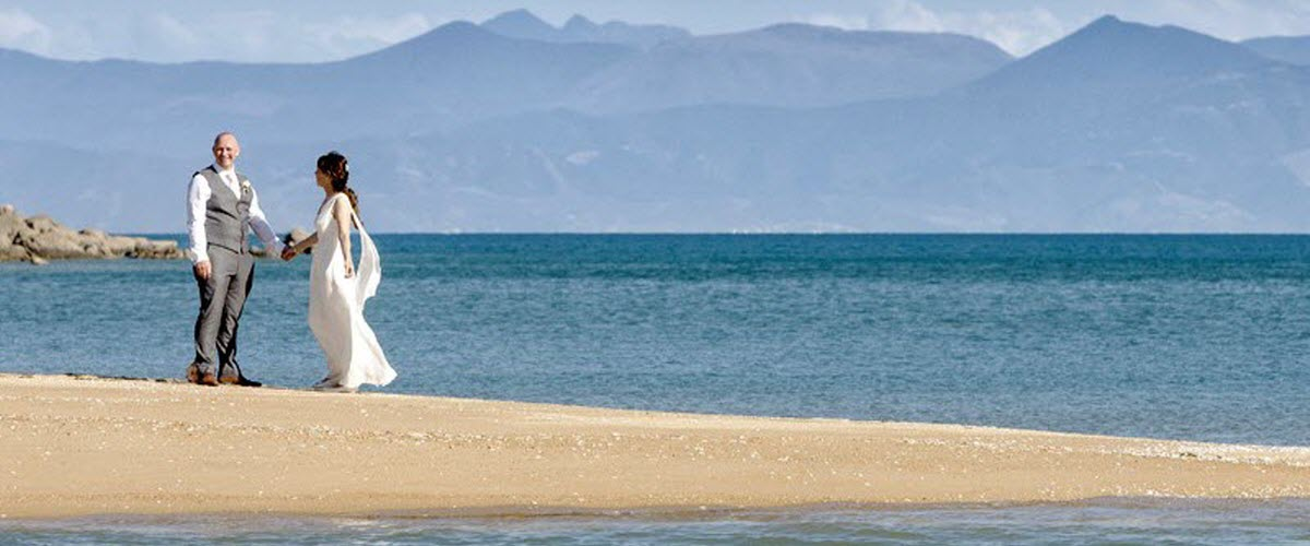 Abel Tasman Beach Wedding - New Zealand Wedding Packages