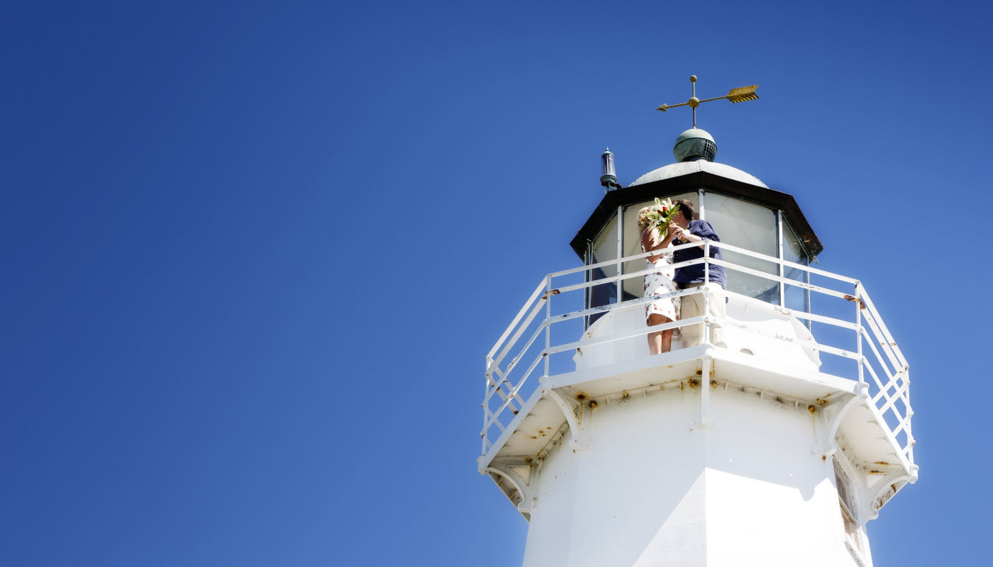 Nelson Lighthouse Wedding - New Zealand Wedding Packages