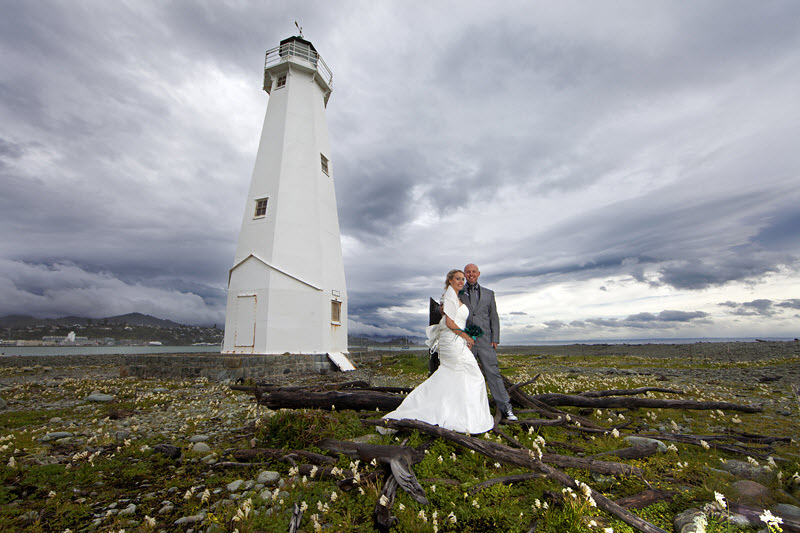 Nelson lighthouse wedding location - New Zealand Wedding Packages