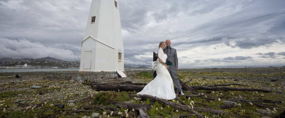 LIghthouse Wedding - New Zealand Wedding Packages