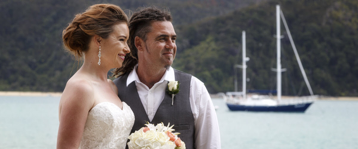 Abel Tasman Wedding - New Zealand Wedding Packages