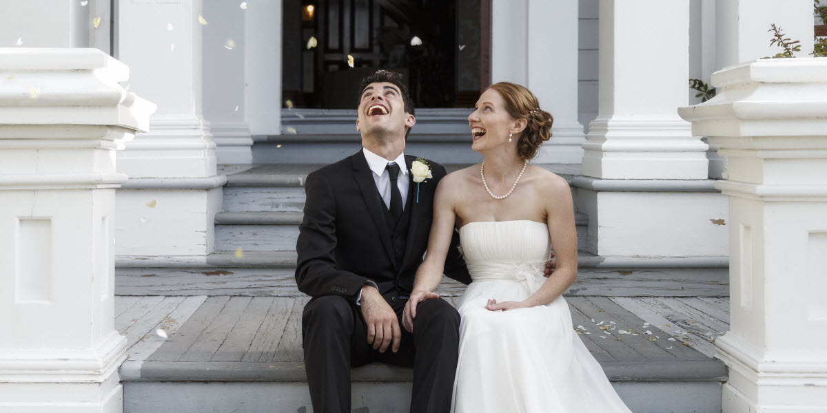 Nelson Melrose House Wedding New Zealand Wedding Packages